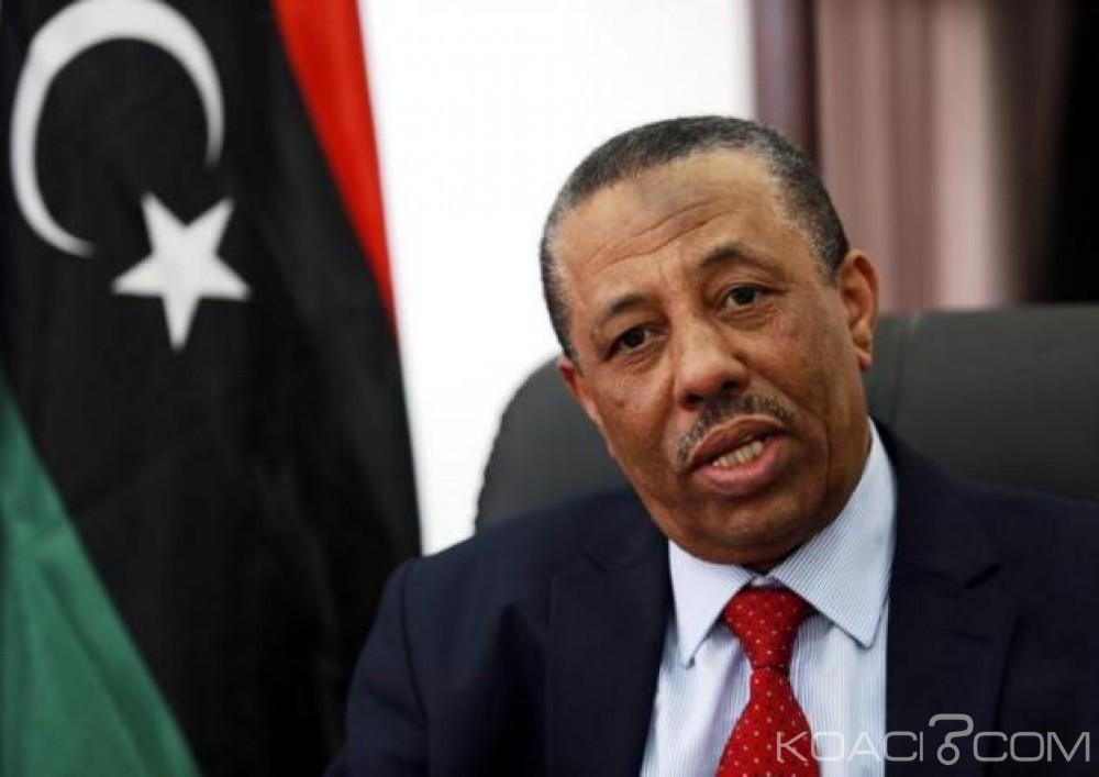 Libye : Démission surprise du Premier ministre à la télévision