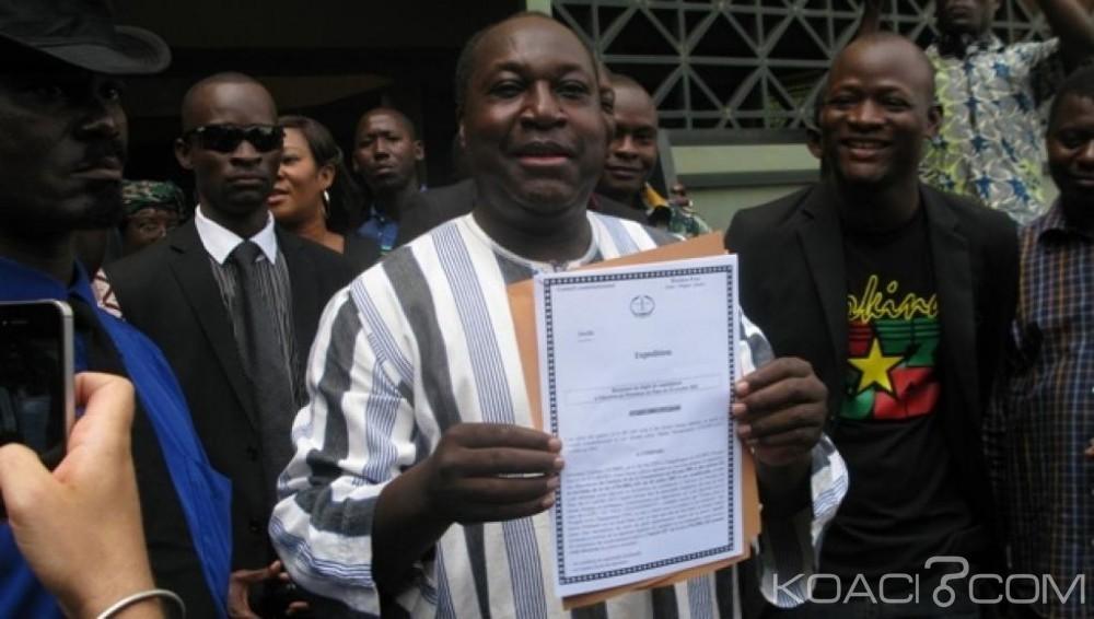 Burkina Faso : Après avoir déposé sa candidature, Zéphirin Diabré se dit  «prêt pour le combat» à la présidentielle