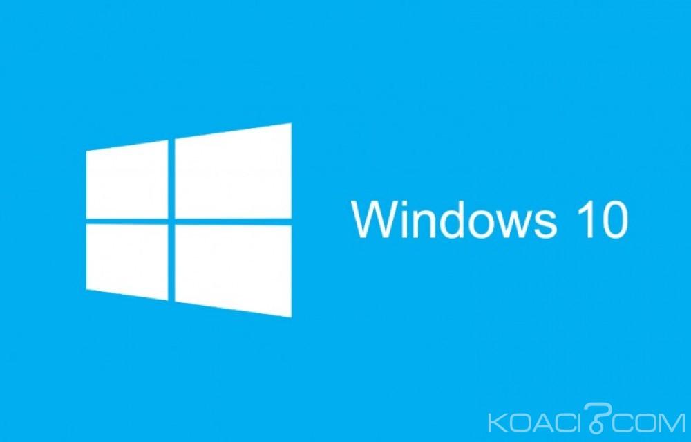 Monde: Windows 10 scannera votre ordinateur et bloquera vos jeux piratés