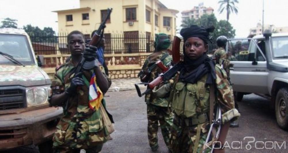 Centrafrique : 163 enfants soldats dont cinq filles relà¢chés  par les antibalakas