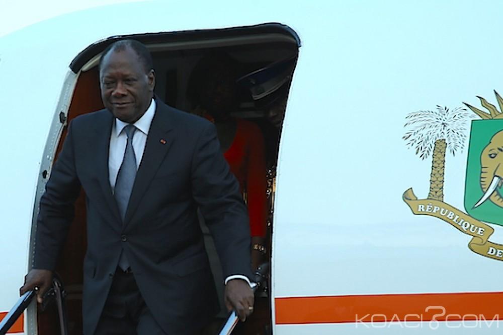 Côte d'Ivoire: Fini les vacances, Ouattara rentre à Abidjan et annonce une nouvelle tournée dans le sud est