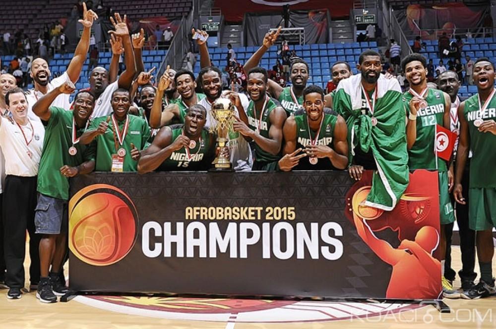 AfroBasket 2015 : Le Nigeria sacré pour la première fois de son histoire