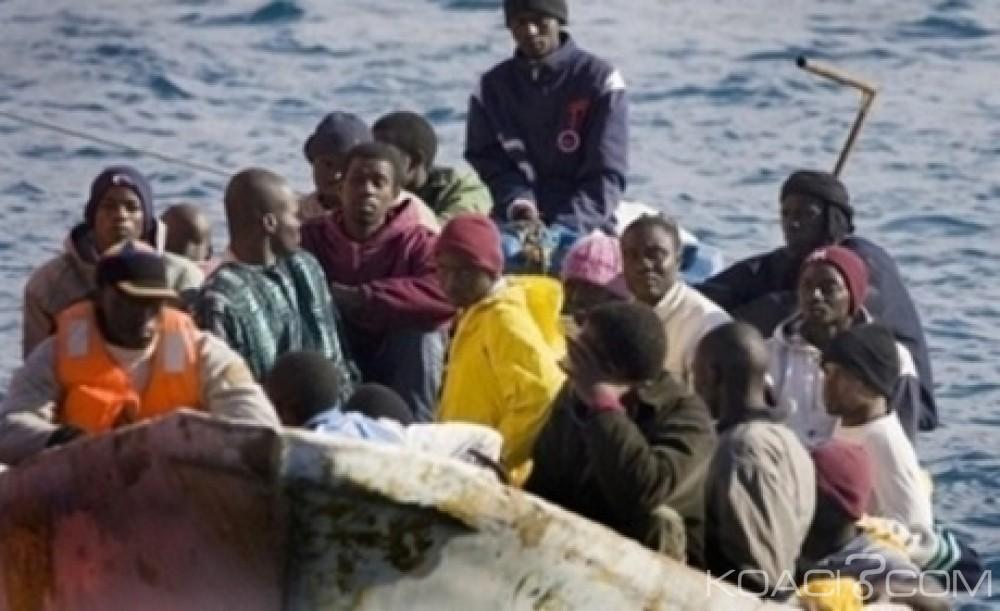 Libye :  Près de 30 migrants  portés disparus en mer, 104 dont des nigérians secourus au large de Tripoli