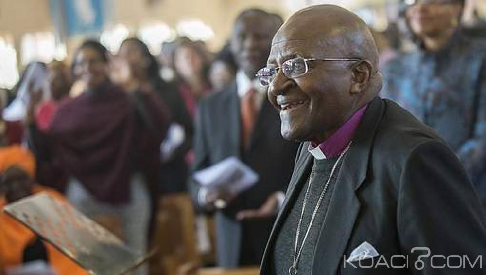 Afrique du Sud : Desmond Tutu quitte l'hôpital après deux  semaines de traitement