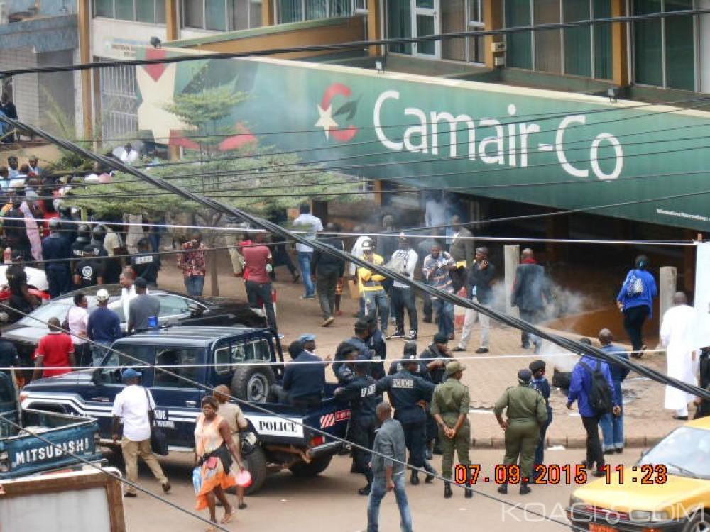 Cameroun : Pour vols annulés à répétition, des passagers tentent de mettre le feu à l'agence Camair-co de Yaoundé