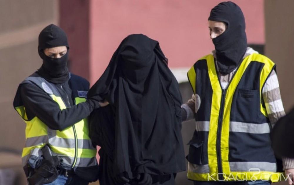 Maroc : Arrestation en Espagne d'une marocaine de 18 ans en route pour le jihad