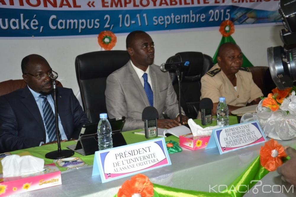 Côte d'Ivoire:  Université Alassane Ouattara, le président prévient: «l'Employabilité ne saurait être à elle-même sa propre fin»