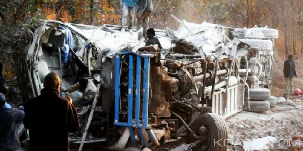 Zambie : 17 morts dans un grave accident de la route à Lusaka