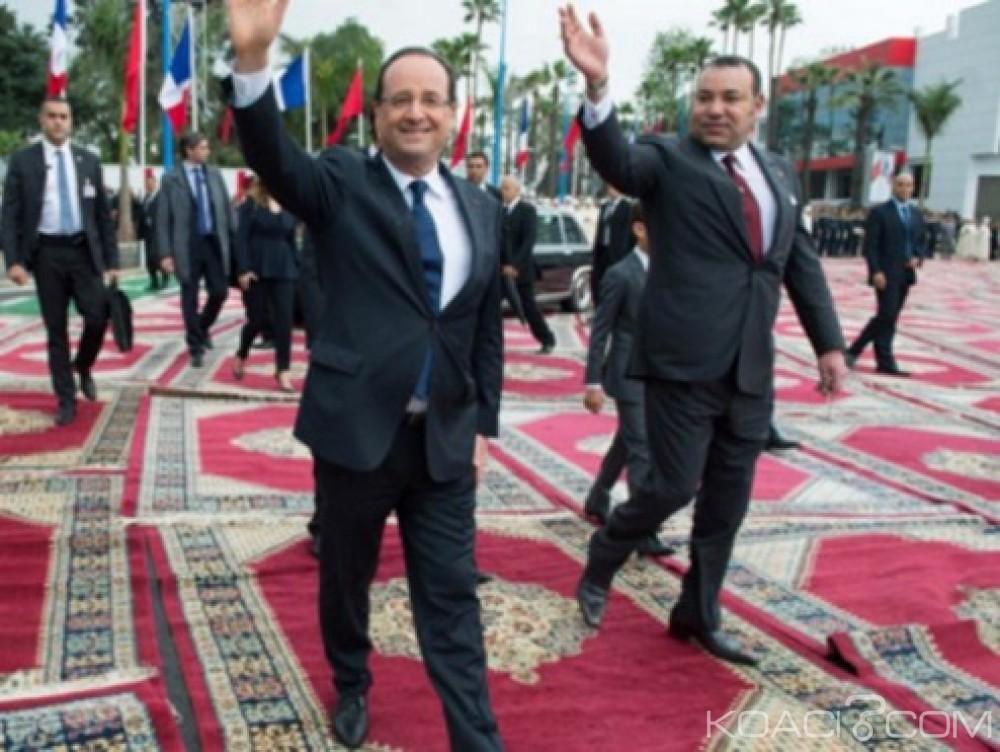 Koacinaute: François Hollande au Maroc pour une nouvelle dynamique des relations bilatérales