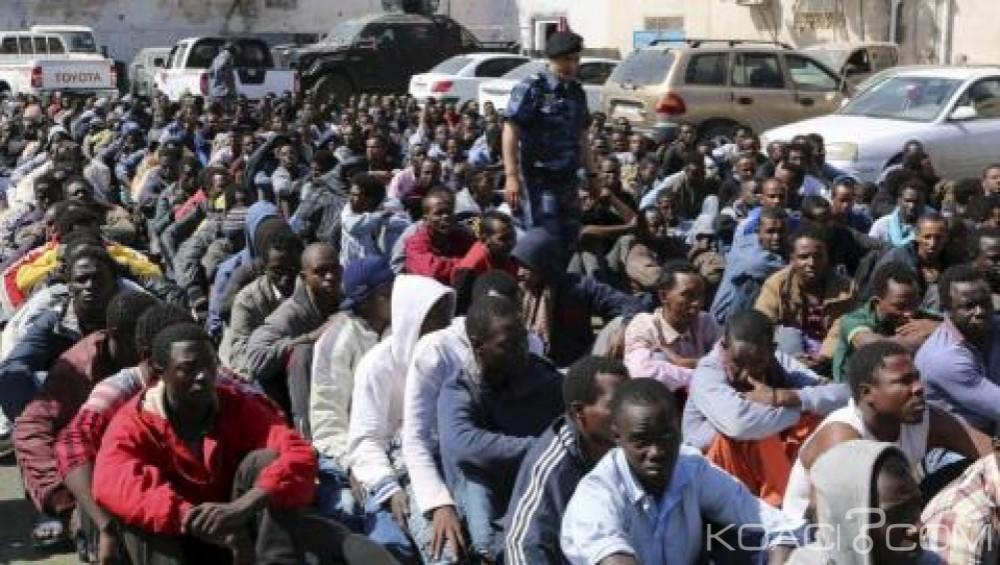 Libye: Arrestation de 124 migrants clandestins en route pour l' Europe