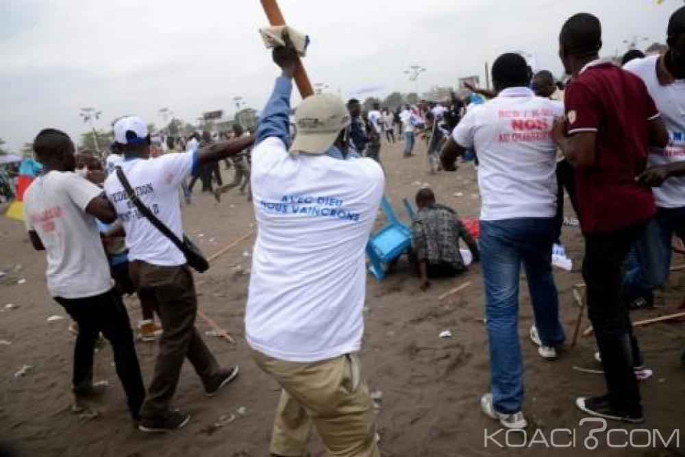 RDC : Un rassemblement de l' opposition attaqué par des assaillants, d'après Human Rights Watch
