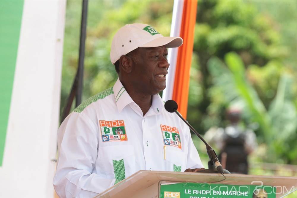 Côte d'Ivoire: Ouattara prie pour «ses adversaires animés d'un esprit de perturbations»