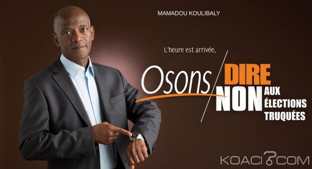Côte d'Ivoire: Présidentielle, en campagne pour le boycott Koulibaly annonce une marche jeudi au Plateau
