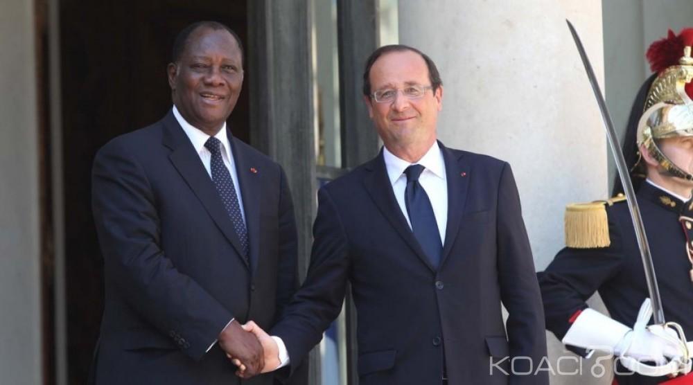 Côte d'Ivoire: Présidentielle 2015, Hollande félicite Ouattara et espère que cette élection va réconcilier les ivoiriens