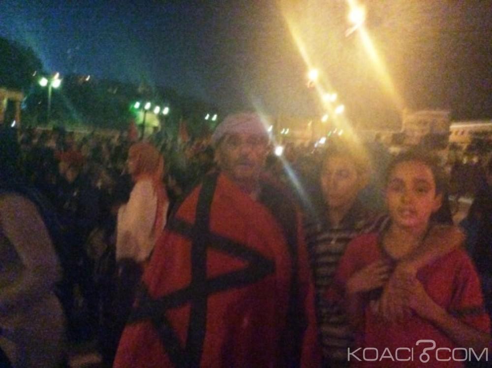 Koacinaute: Sit-in devant le siège de la MINURSO à Laayoune