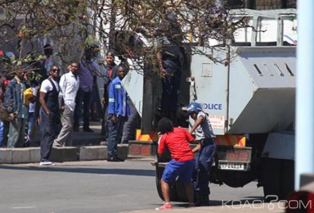 Zimbabwe: Un député arrêté pour trouble à l'ordre public à Harare