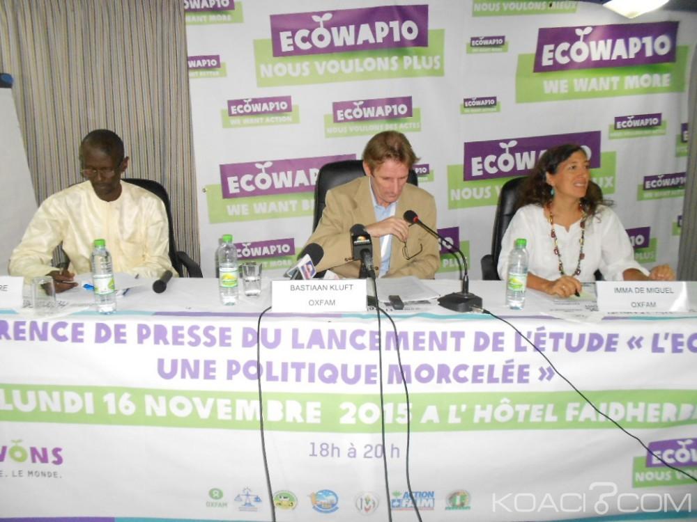 Cedeao: L'Ong Oxfam dénonce un manque de coordination qui freine l'ECOWAP et propose des outils pour atteindre l'objectif