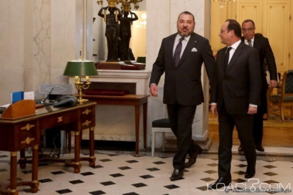 Koacinaute: Attentats de Paris: François Hollande exprime ses remerciements au Roi Mohammed VI pour l'assistance efficace du Maroc