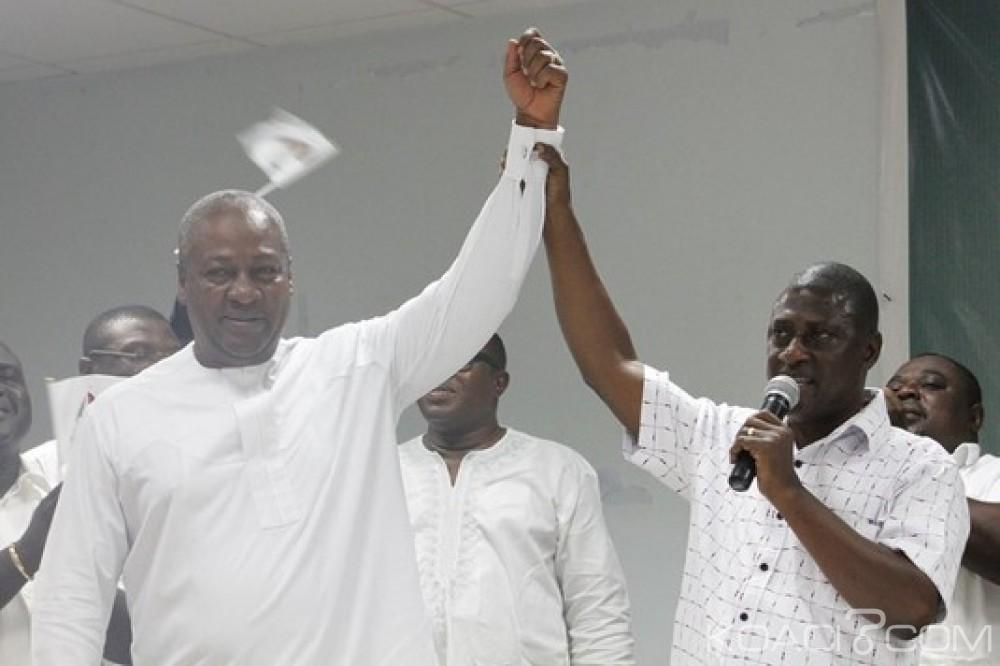 Ghana: Présidentielle 2016: Attente du candidat NDC à la vice-présidence