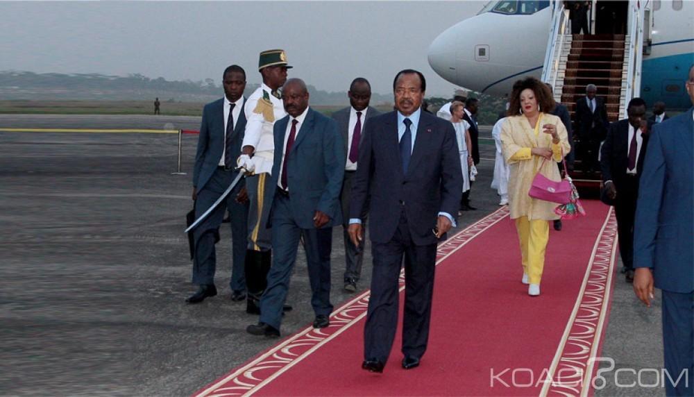 Cameroun : Comme avec la «peur dans le ventre », le couple présidentiel regagne la capitale