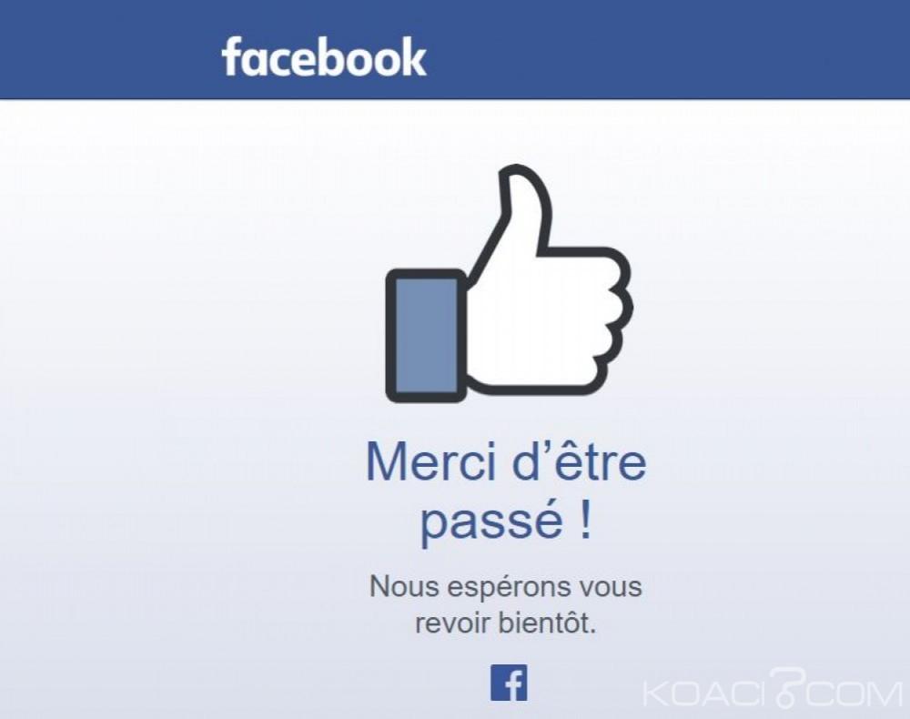 Internet: Facebook planifie un usage de son application même étant hors couverture réseau