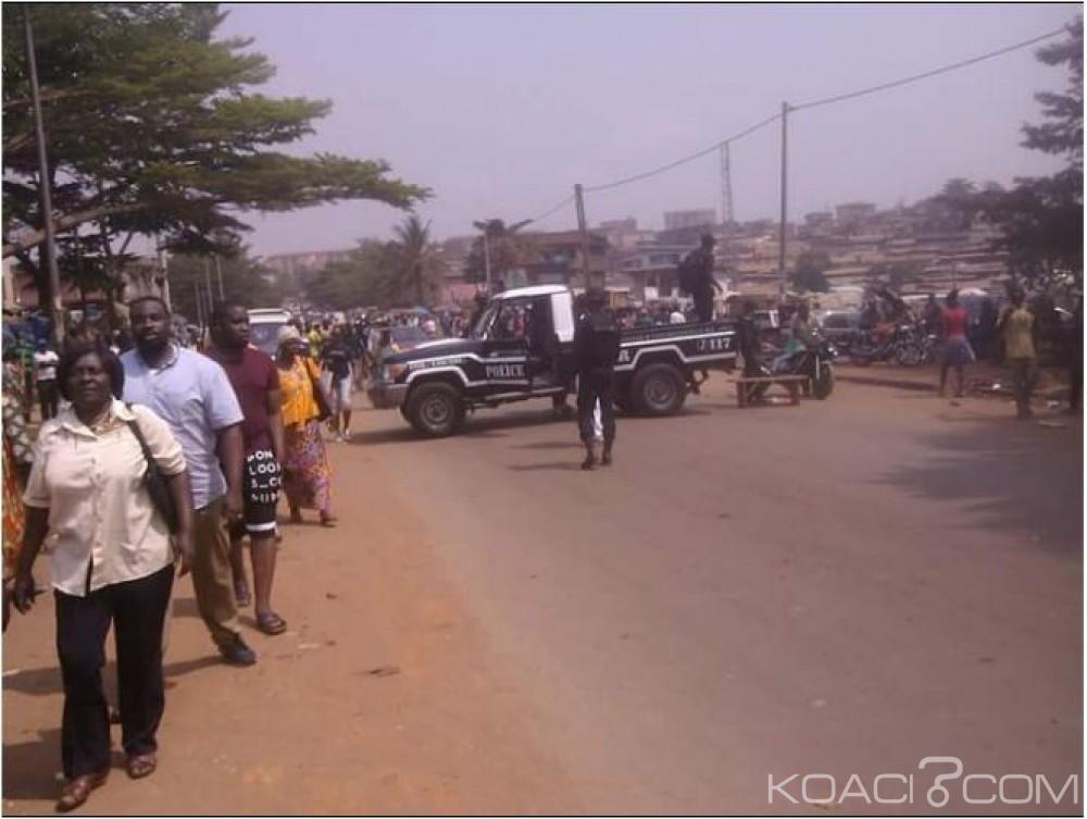 Cameroun:  Marché Mokolo, une cinquantaine de boutiques cibles d'un braquage spectaculaire
