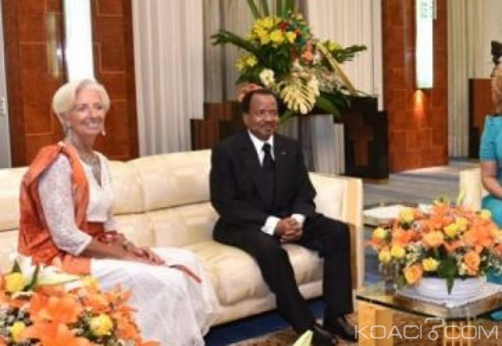 Cameroun-FMI : Face à Lagarde, Biya attribue la croissance à la diversité de l'économie camerounaise
