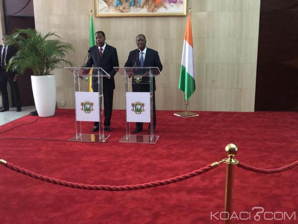 Côte d'Ivoire: Plusieurs sujets au centre d'un entretien entre  Yayi Boni et Ouattara à Abidjan