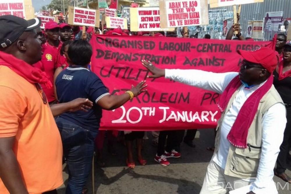 Ghana: Grève générale contre la vie chère