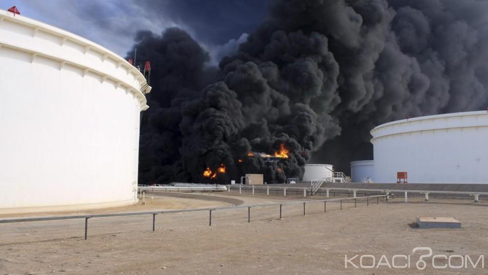 Libye: Des installations pétrolières en feu après une nouvelle attaque de Daech