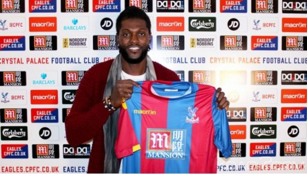Togo: Fin de galère pour  Adebayor, il s'est engagé pour 6 mois avec Crystal Palace
