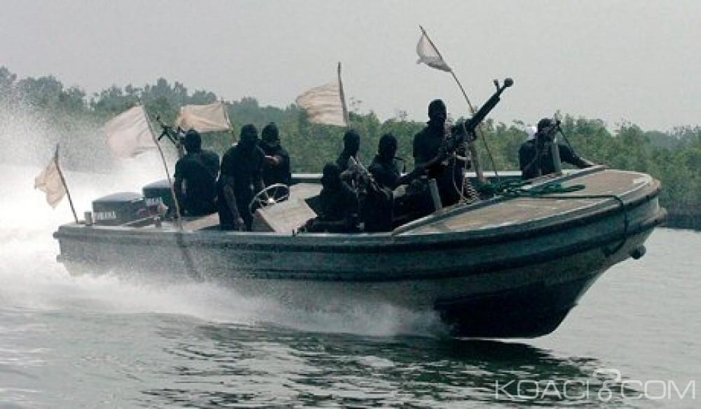 Nigeria: Cinq étrangers capturés à bord de leur bateau au large