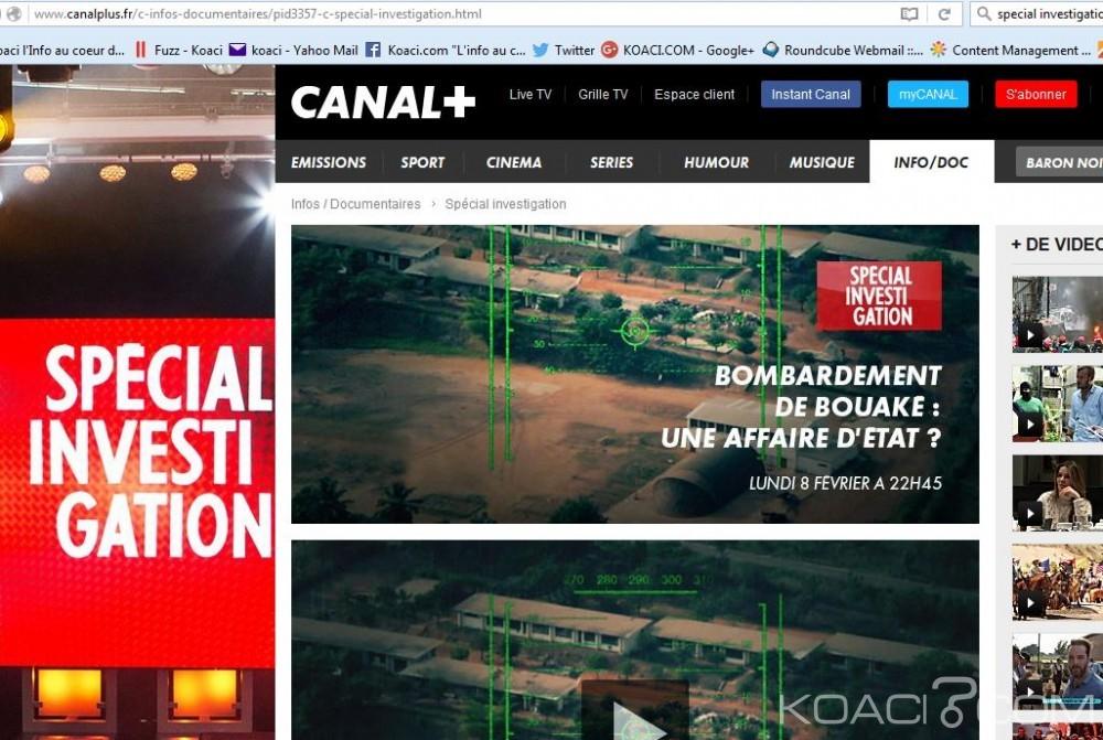 Côte d'Ivoire: Canal+ annule brusquement la diffusion d'une enquête sur les bombardements de Bouaké en 2004