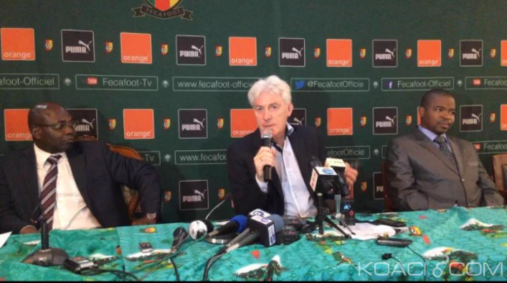 Cameroun: Lions indomptables, Hugo Broos: «j'ai déjà commencé à faire l'inventaire des joueurs»