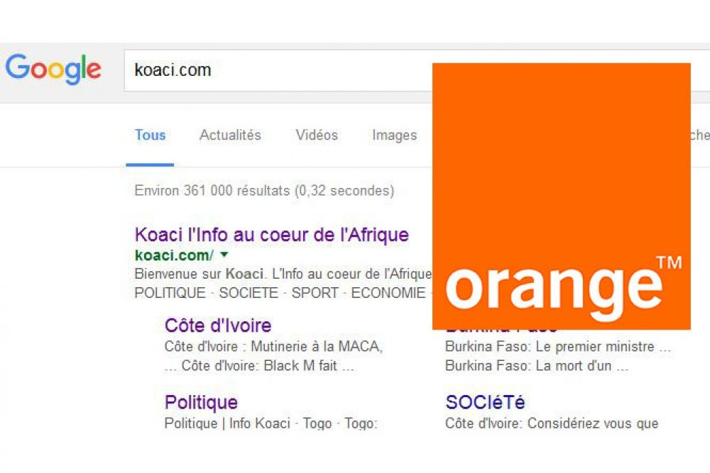Afrique: Orange et Google s'associent pour booster l'internet mobile