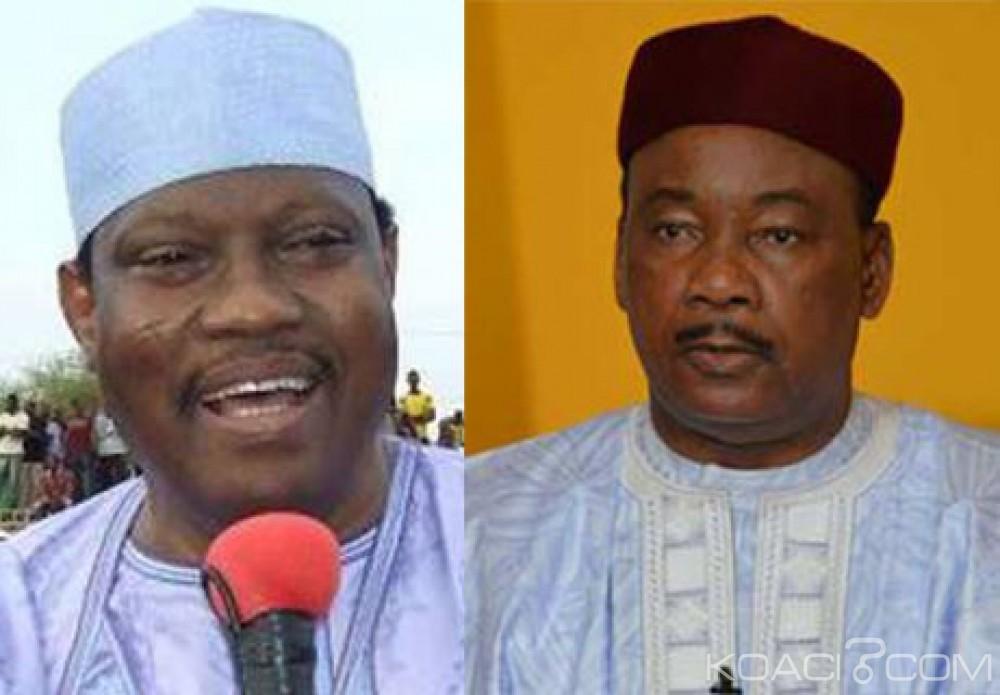 Niger: Mahamadou Issoufou-Hama Amadou, affiche du second tour de la présidentielle