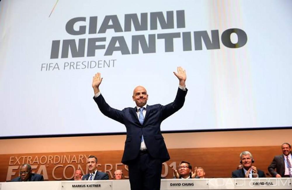 FIFA : Gianni Infantino crée la surprise et succède à Blatter, la CAF mise sur le mauvais «cheval»