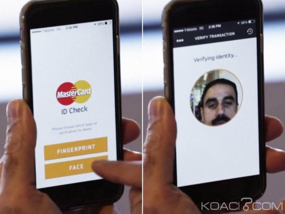 Monde: MasterCard lance le paiement par Selfie pour freiner les fraudes