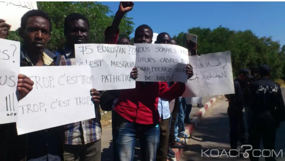 Tchad:  Six étudiants aux arrêts pour avoir réclamé leur bourse