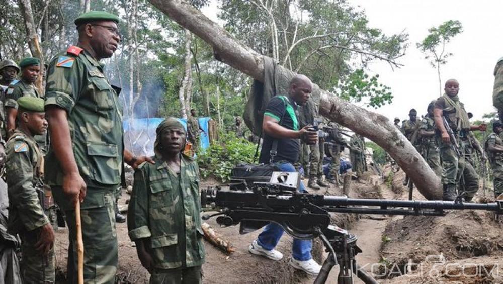 RDC: Nord-Kivu, quatre morts dans les rangs de l'armée après des combats avec les rebelles de Fdlr
