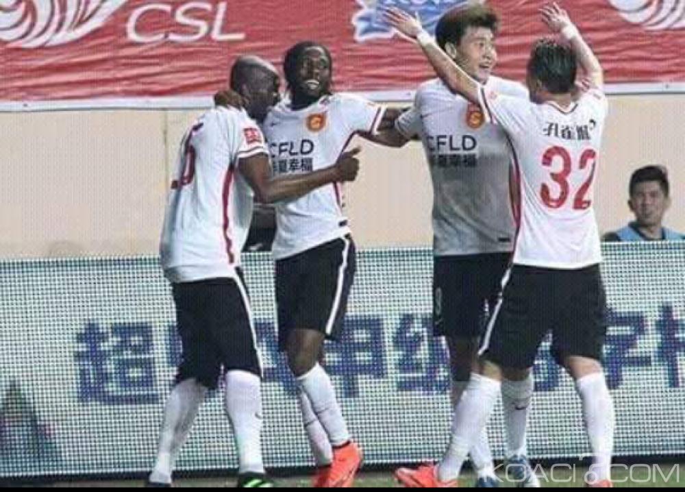 Cameroun:  Stéphane Mbia ouvre son compteur de buts en Chine
