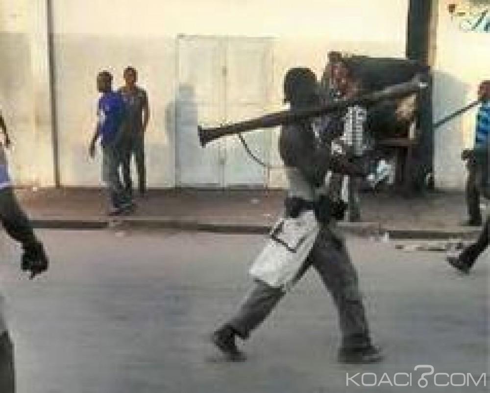 Congo: Scènes de guerre à Brazzaville, tirs à l'arme lourde, la mort d'un étudiant attribuée à la police