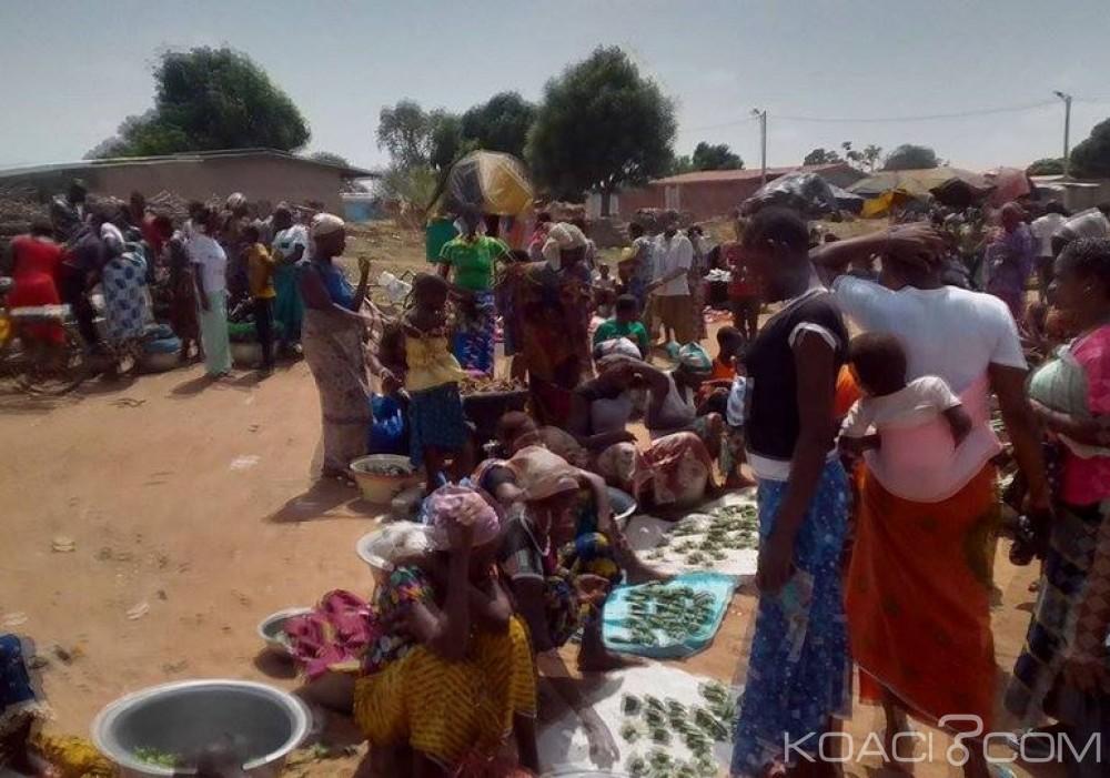 Côte d'Ivoire: Bouna, la communauté Lobi installe son «marché» dans le Gbonontchara