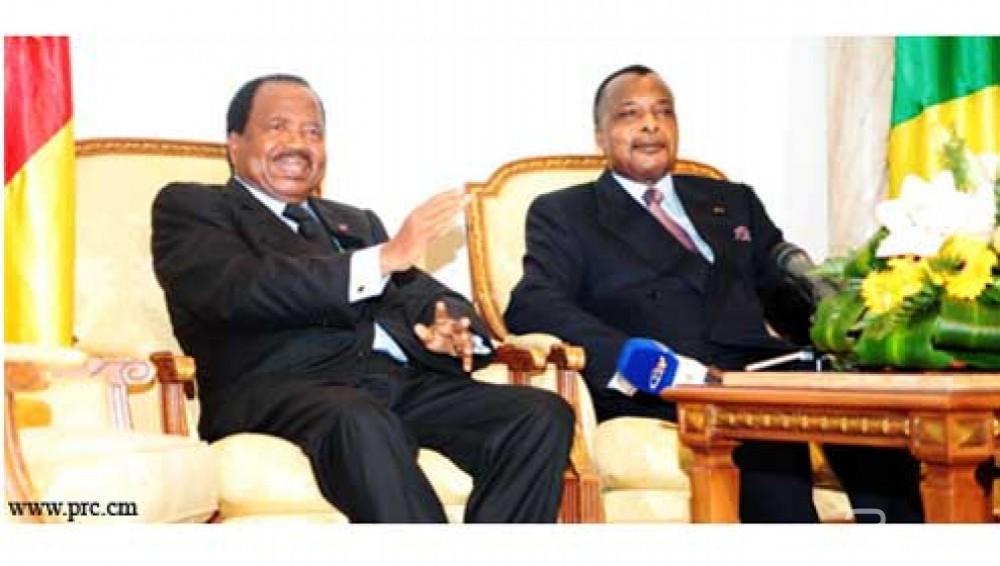 Congo: Paul Biya n'assistera pas à l'investiture de son «frère» Denis Sassou Nguesso