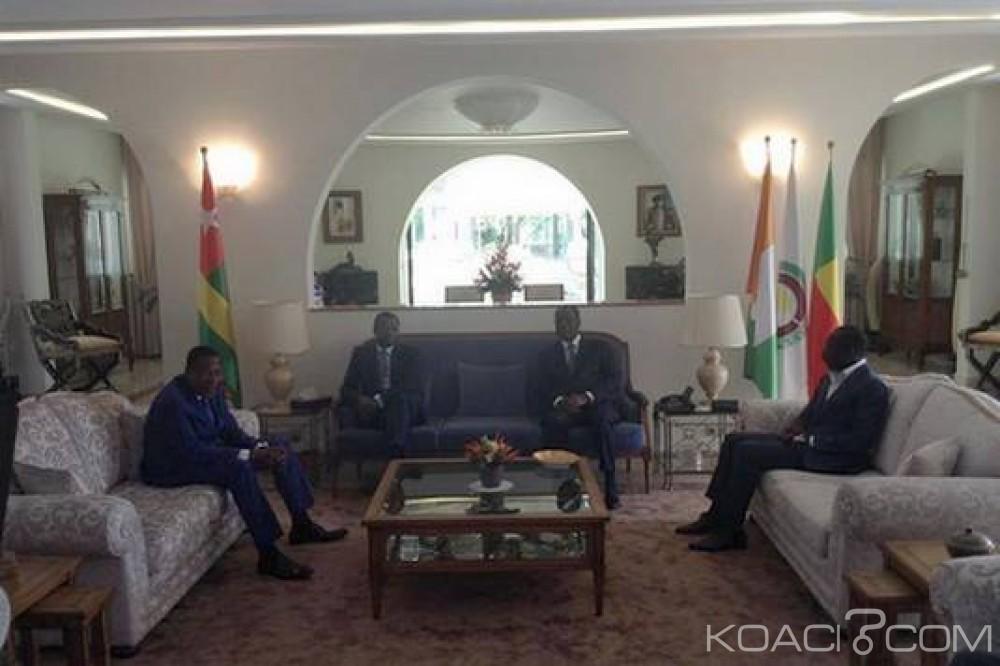 Bénin-Côte d'Ivoire: Rencontre de haut sommet à quatre à Abidjan pour réconcilier Talon et Yayi