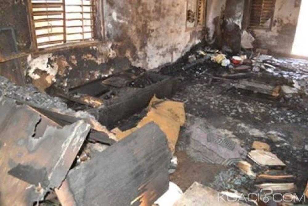 Burkina Faso : Quatre morts dans l'incendie d'une maison