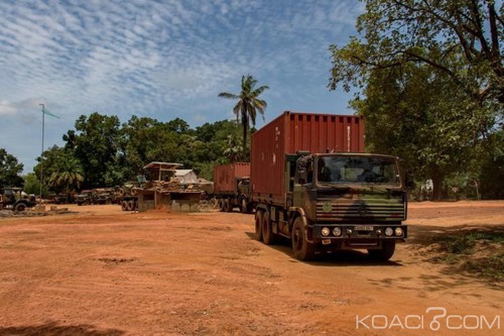 Centrafrique: Sangaris cède la plateforme de Sibut aux autorités de Bangui