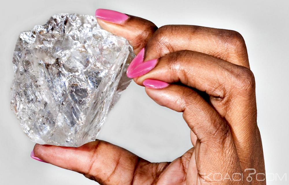 Bostwana: «Lesedi La Rona», le plus gros diamant au monde mis aux enchères à Londres