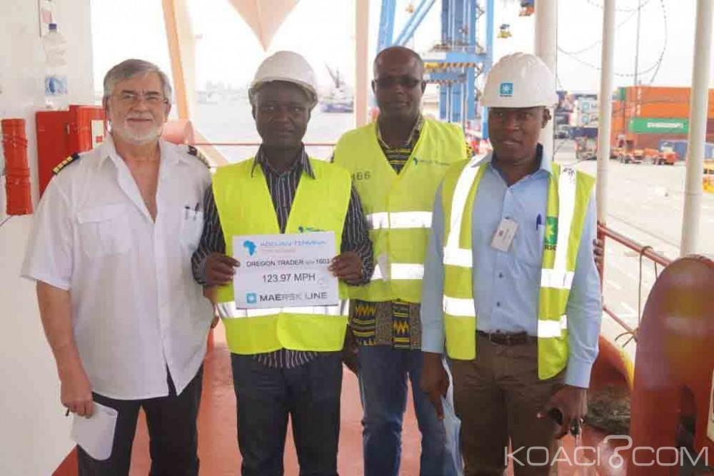 Côte d'Ivoire: Vitesse de traitement d'un navire, Abidjan Terminal pulvérise les records africains