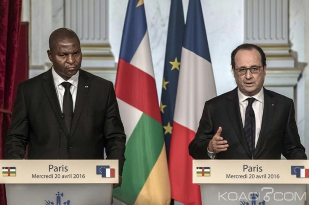 Centrafrique: François Hollande attendu cet après-midi à Bangui par Faustin ArchangeTouadéra